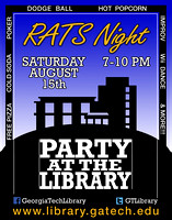 "Poster for ""Rat's Night"" library Event"