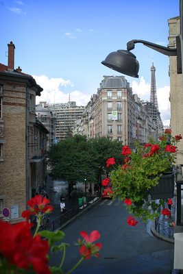 Rue Saint Charles in the Morning