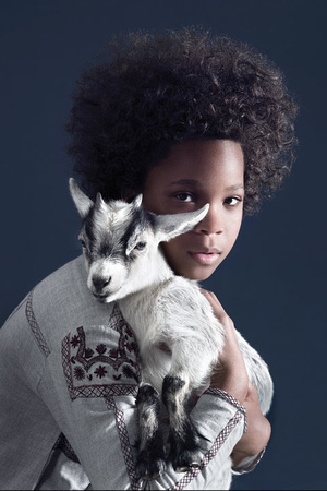 Quvenzhané Wallis Cover for Time Styles Mag